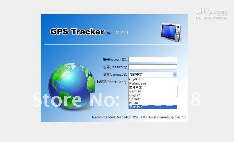 TK102 2012 New High Quality GPS Tracker SD card! Vibration Alarm! Quad band real address name PC&web GPS tracking system
