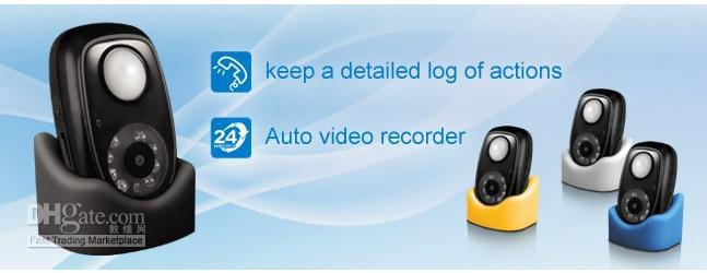 PIR Detector HD Camera Mini DVR with Infrared body induction and Night vision function 1.jpg