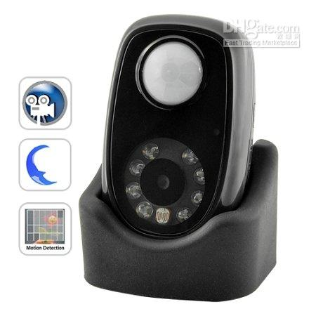 PIR Detector HD Camera Mini DVR with Infrared body induction and Night vision function .jpg