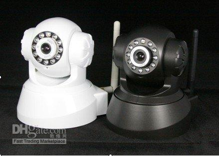 EasyN Wireless WIFI IP Camera IR LED 2-Audio Nightvision Webcam Black, Free Shipping
