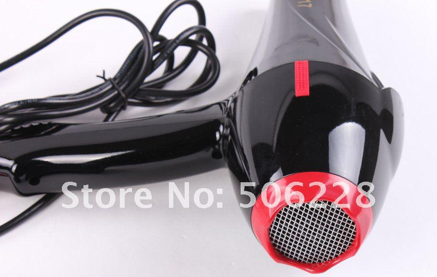 Free shipping 2000 watts hair dryer in black,salon hair dryer GW-617, wholesale + retail professional hair dryer